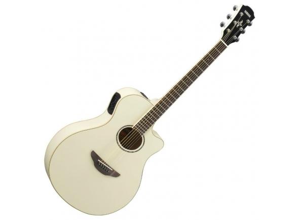 Guitarras Folk Yamaha APX 600 Vintage White