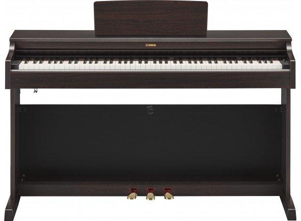 Yamaha Arius YDP-163R Rosewood  A escolha de excelência tanto para o estudante em desenvolvimento como para o pianista com mais experiência.   Teclado Graded Hammer 3 (GH3) com teclas com acabamento em marfim sintético  10 sons  Polifonia a 192 notas (máximo)