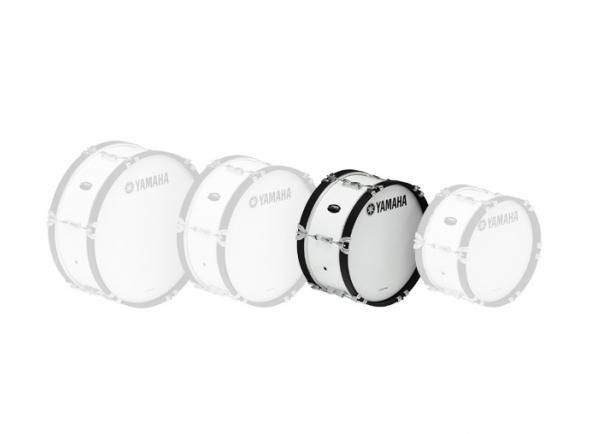 Bombos de marcha Yamaha Bombo de Marcha  MB2016 16'x07' Branco