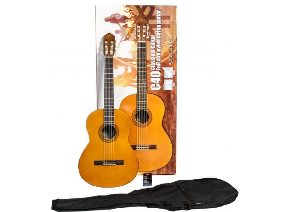 Guitarra Clássica Yamaha C40 Standard Pack