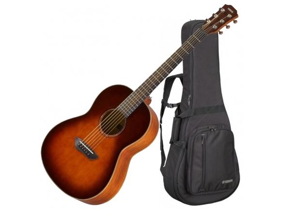 Outras guitarras acústicas Yamaha CSF3M Tobacco Sunburst