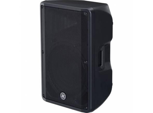 """Yamaha DBR-15  O melhor nível de pressão sonora da série   Coluna fullrange ativa de 15"""";  Tweeter de 1,4"""";  Resposta de frequência: 50Hz - 20kHz;"""