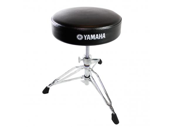 Yamaha DS 840  Yamaha DS 840  Banco Bateria Yamaha DS-840. Assento: desenho redondo (30cm de diâmetro). Altura: ajustável entre 43 e 65 cm.