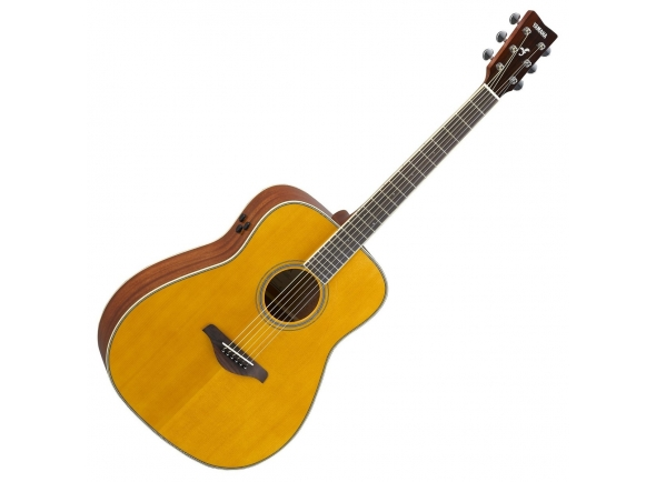 Guitarras Dreadnought Yamaha FG-TA Vintage Tint TransAcoustic