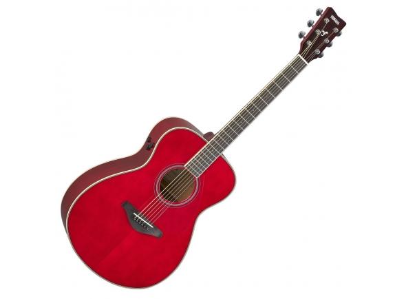 Outras guitarras acústicas Yamaha FS-TA Ruby Red TransAcoustic