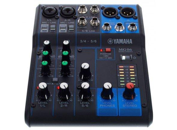 Mesa de Mistura Analógica Yamaha MG-06