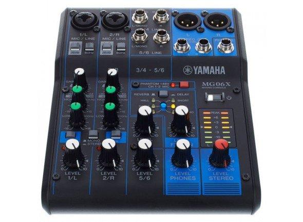 Mesa de Mistura Analógica Yamaha MG-06X