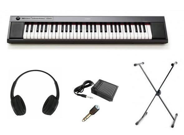 Piano Digital Yamaha NP-12 Black SET