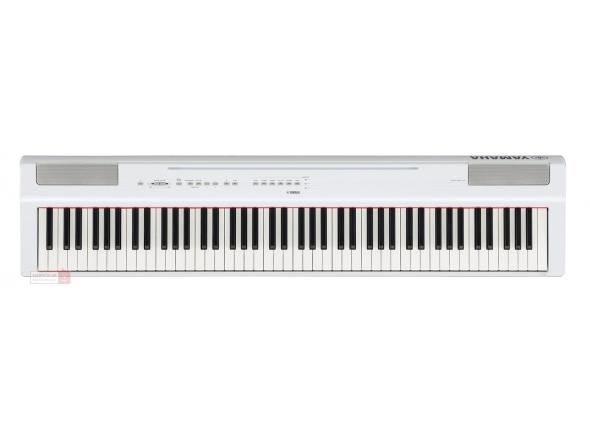Pianos Digitais de Móvel Yamaha P-125WH