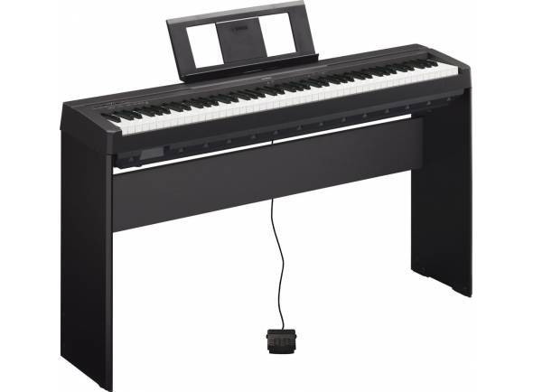 Pianos Digitais de Móvel Yamaha P-45 B Home Bundle