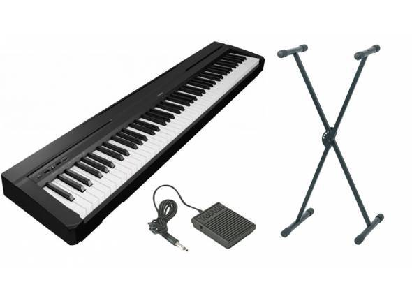 Piano Digital Yamaha P-45 B Stand Bundle
