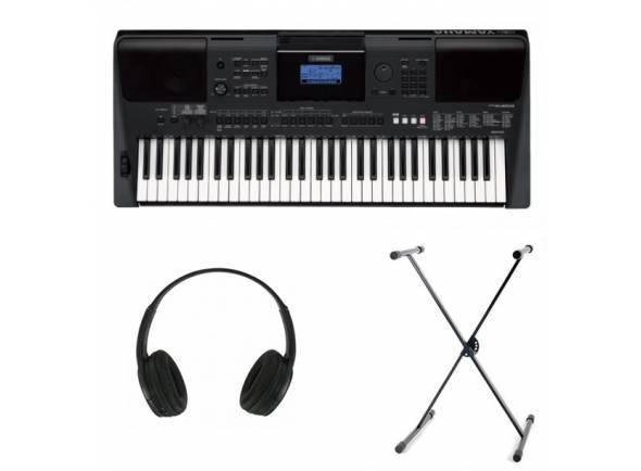 Yamaha PSR-E453 SET  Set Yamaha PSR-E453 + Headphones + Suporte