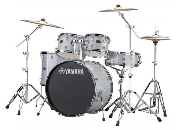 Conjunto de bateria completo Yamaha  Rydeen Standard Silver Glitter