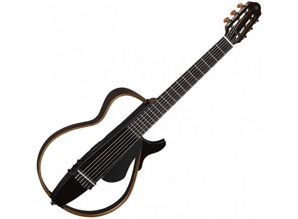 Guitarras clásicas electrificadas Yamaha SLG200N TBK