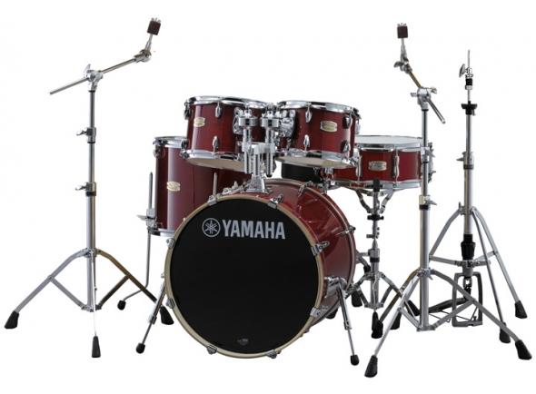 Yamaha Stage Custom Birch Cranberry Red com Hardware sem Pratos