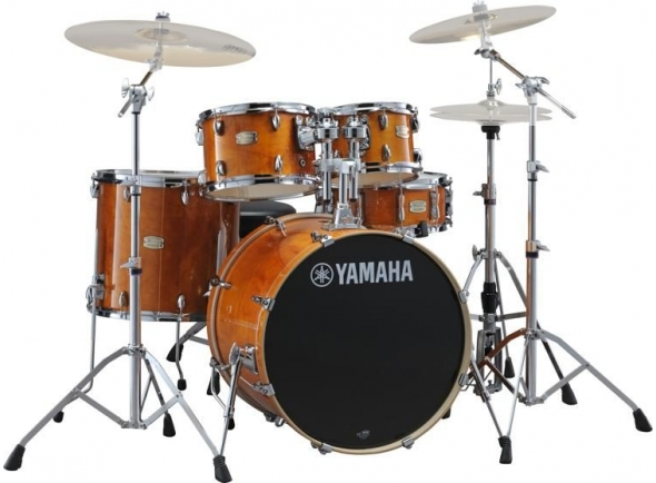 Yamaha Stage Custom Birch Honey Amber com Hardware sem Pratos