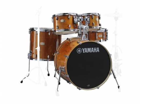 Yamaha Stage Custom Birch Honey Amber sem Hardware