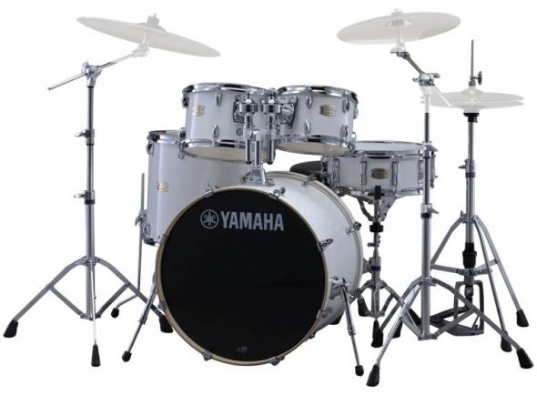 Yamaha Stage Custom Birch Pure White com Hardware sem Pratos