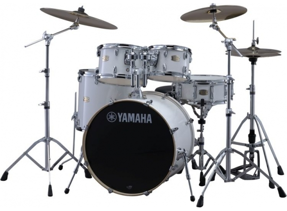 Yamaha Stage Custom Birch Pure White Completa