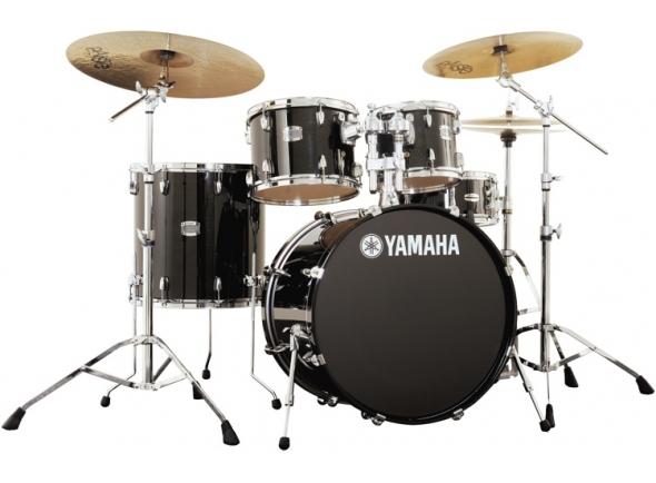 Yamaha Stage Custom Birch Raven Black Completa