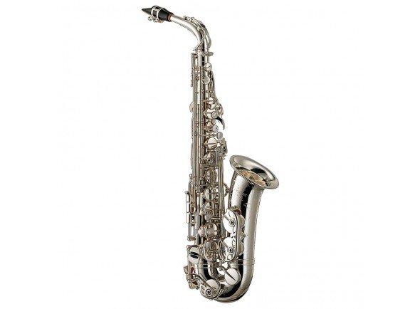 Yamaha YAS-62 S  Saxofone alto Yamaha YAS 62 S - Prateado - Novo tudel 62 - Chave de Fá# agudo - Fá frontal - Ligação Si-Dó# melhorada