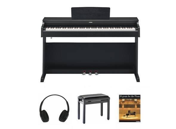 Piano Digital Yamaha YDP 163 Arius Black SET