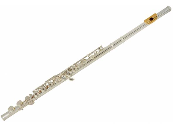 Yamaha YFL 372 GL   Yamaha YFL 372 GL  Flauta Transversal em Dó niquelada  Cabeça de prata  Ponte estilo francês  Pratos abertos  Mecanismos de MI  Chaves abertas  ChavesDesalinhadas  Bisel em ouro de 24K  Inclui estojo
