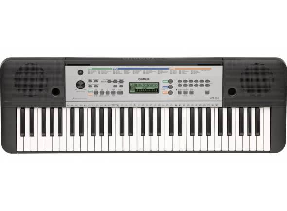 Yamaha YPT-255   O YPT-255 é o instrumento ideal para servir como primeiro teclado para os aspirantes a músicos começarem a tocar.