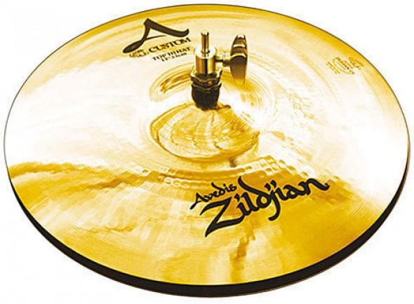 Pratos de choque Zildjian A20507 A-Custom Hi-Hat 13