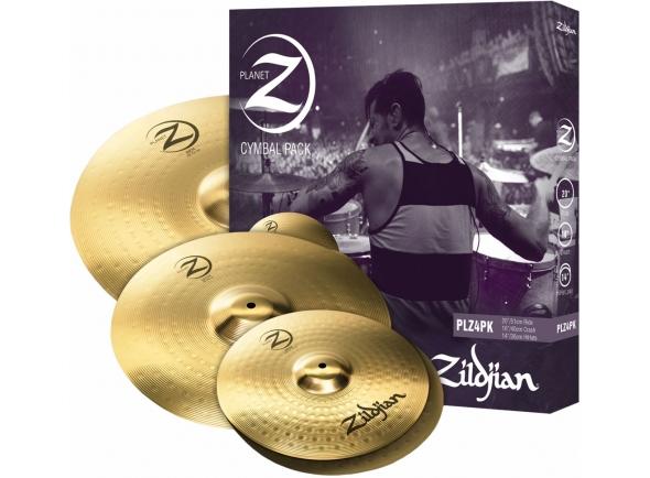 Zildjian Conjunto Pratos Planet Z Z4 14 16 20 PLZ4PK