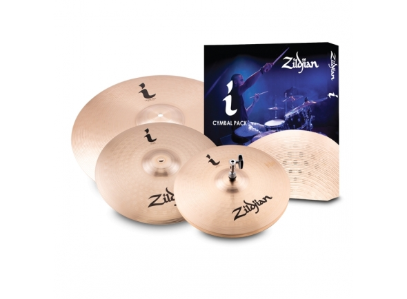 Conjunto de Pratos Zildjian I Essentials Plus Pack