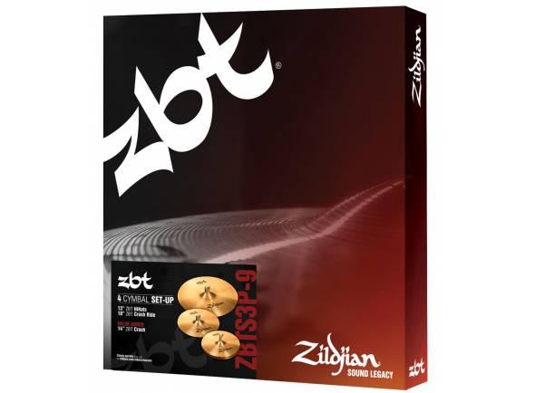 Conjunto de Pratos Zildjian ZBTS3P-9