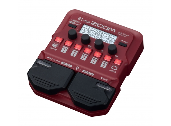 Zoom B1Four Bass Multi Effect