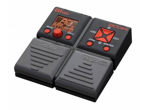 Zoom B1on   O Zoom B1on lhe oferece 75 efeitos de contrabaixo, incluindo uma variedade de distorções, compressões, modulações, delay, reverb e modelos de amp.
