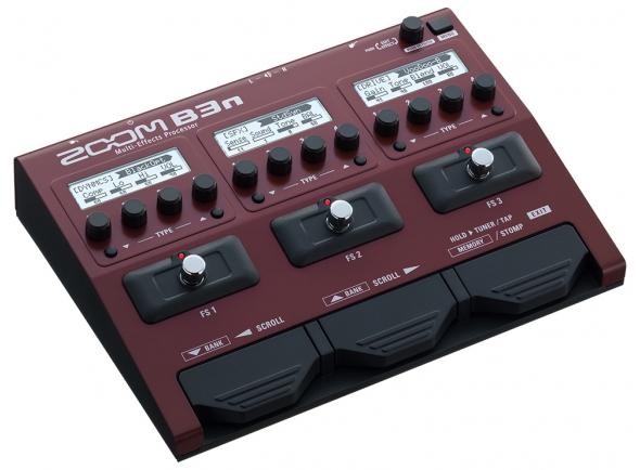 Zoom B3n   Zoom B3n - Pedal multiefeitos