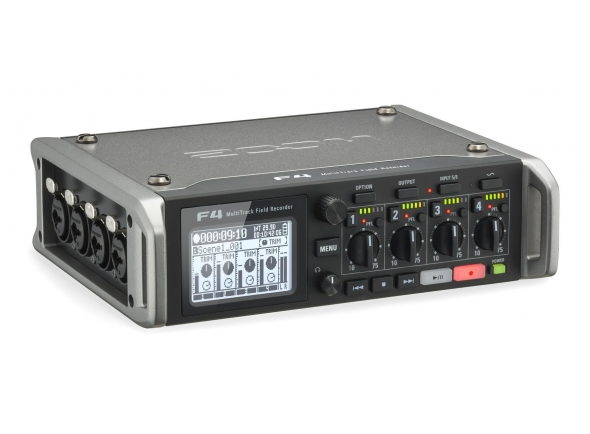 Zoom F4 Multitrack Fieldrecorder 