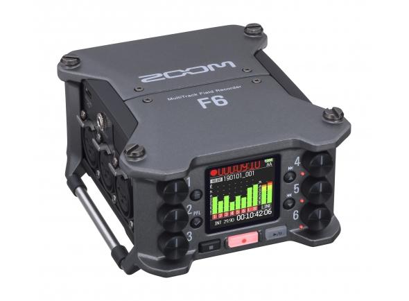Gravadores Digitais Zoom F6