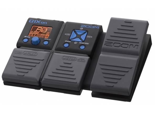 Zoom G1Xon   O G1Xon lhe oferece 80 efeitos de guitarra, incluindo uma variedade de efeitos de distorção, compressão, modulação, delay, reverb e modelos de amp.