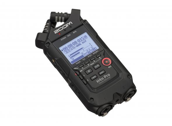 Gravadores Portáteis Zoom H4n Pro Black B-Stock