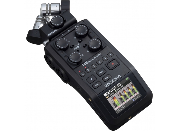 Gravadores Digitais Zoom H6 Black