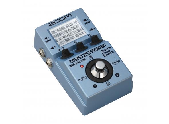 Pedaleiras para guitarra elétrica Zoom Multi Stomp MS-70 CDR