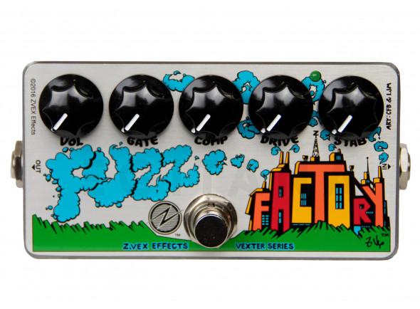 Pedal de distorção ZVEX Effects Fuzz Factory Vexter